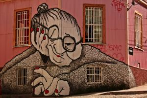 Grafitti Valparaíso
