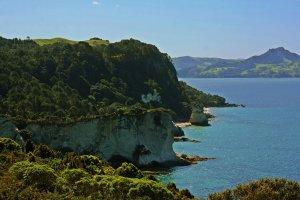 Cathedral Cove desde mirador