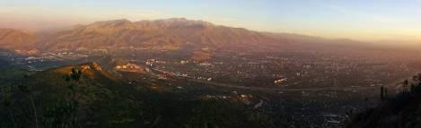 Panoramica Santiago Chile 2 rec