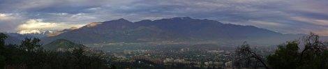 Panoramica Santiago Chile rec