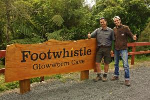 Footwhistle Glow worm cave