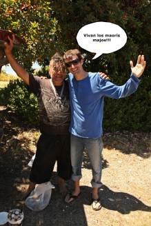 Victor y Maori