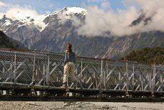 Ruth en el puente