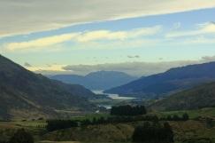 Vistas del Lago Wkatipu desde arriba