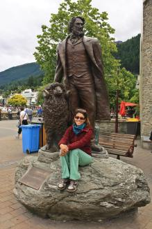 Ruth en Queenstown