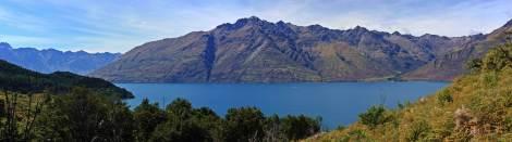 Panoramica lago Wakatipu