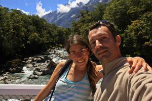 Ruth y Victor en Milford Sound
