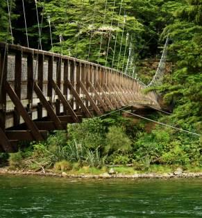 Puente en Te Anau