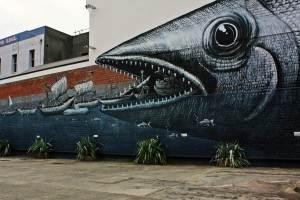 Murales Callejeros en Dunedin