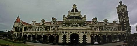 Panoramica rail station Dunedin